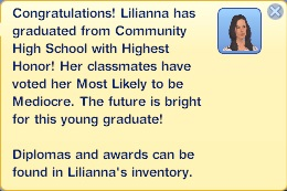Graduation - Lilianna Diabolical