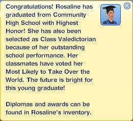 Graduation - Rosaline Diabolical